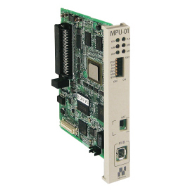 MECHATROLINK-Ⅲ Motion control module (with CPU function) MPU-01